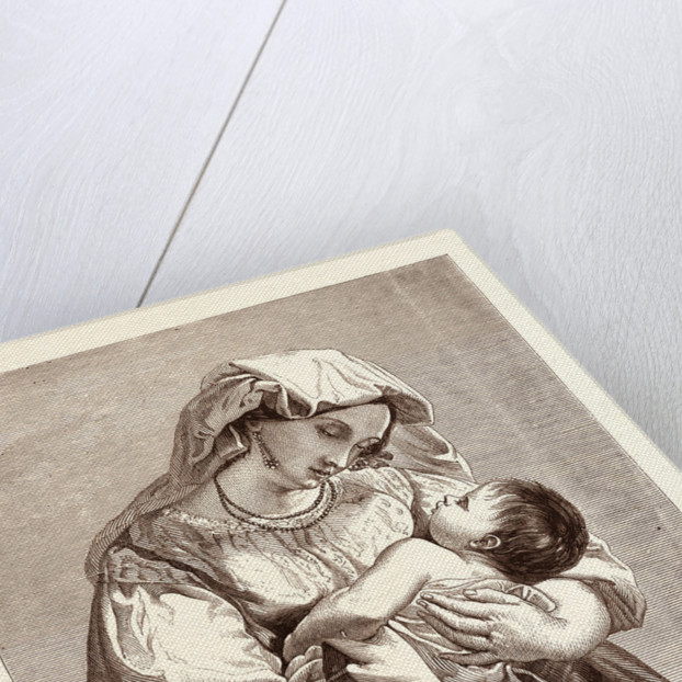 Italian Woman and Child by Anonymous