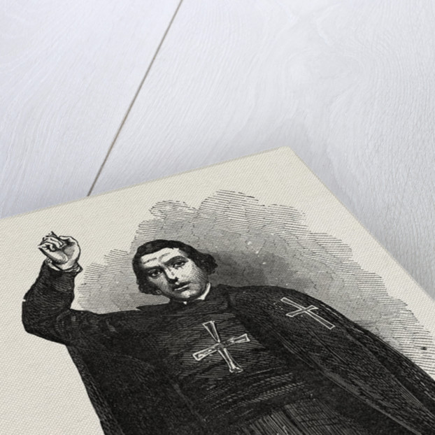 Father Gavazzi by Anonymous