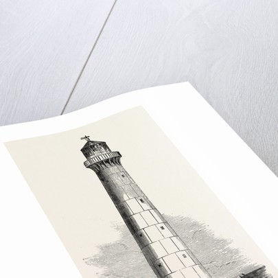 Cast-Iron Lighthouse, for Barbadoes, Barbados by Anonymous