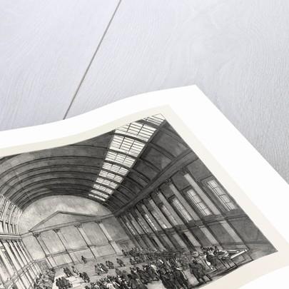 Interior of the New Corn Exchange, Northampton by Anonymous