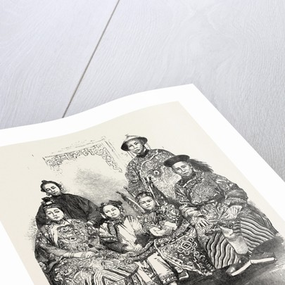 The Chinese Family, in the Exhibition at Albert Gate by Anonymous