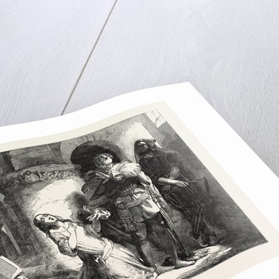 Exhibition of the Royal Academy: The Secret Execution by Anonymous