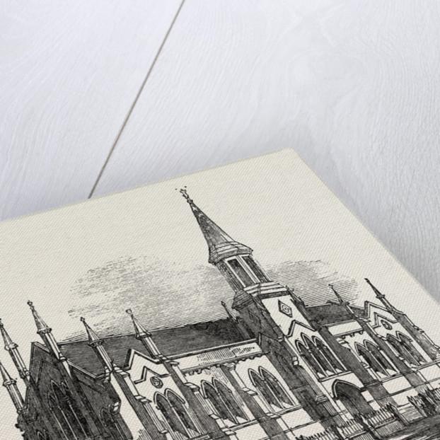 New Church at Launceston, Van Diemen's Land, Tasmania, Australia by Anonymous
