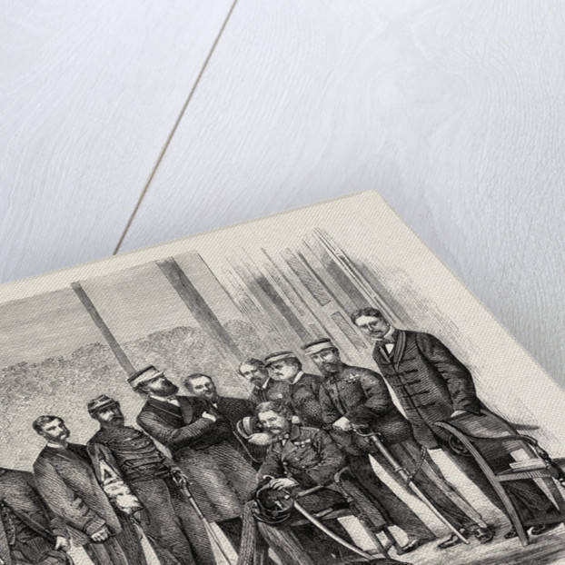 Sir Hope Grant and the Staff of the British Expedition in China by Anonymous