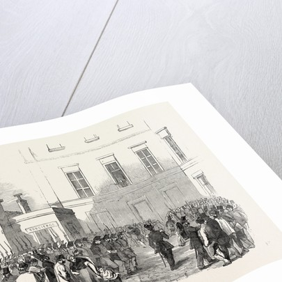 Revolution in France: Arrest of Representatives, 1851 by Anonymous