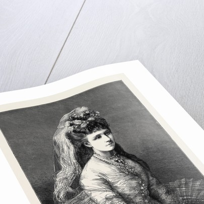 The Civil War in Spain, the Infanta Doña Maria De Las Nieves, Wife of Don Alphonso, Commonly Known As Doï'a Blanca, the Carlist Leader by Anonymous
