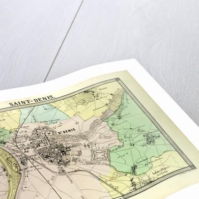 Saint Denis France Map.Map Of Saint Denis France