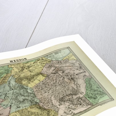 Map of Meudon France by Anonymous