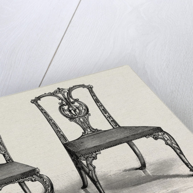 Chairs, 1754 by Anonymous