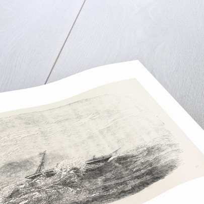 Wreck of the Douro Steamship on the Paracels in the China Sea 1854 by Anonymous