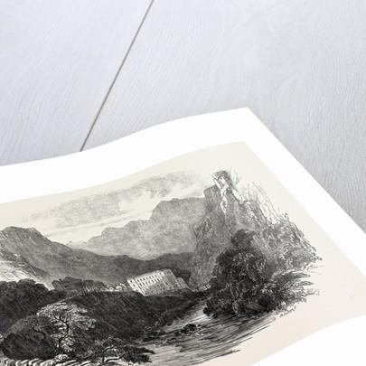 Eaux Chaudes Pyrenees 1854 by Anonymous