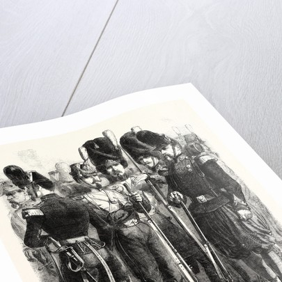 Infantry of the French Imperial Guard 1854 by Anonymous