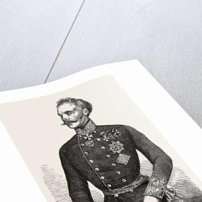 Field-Marshal Baron Von Hess Generalissimo of the Austrian Army of the East 1854 by Anonymous