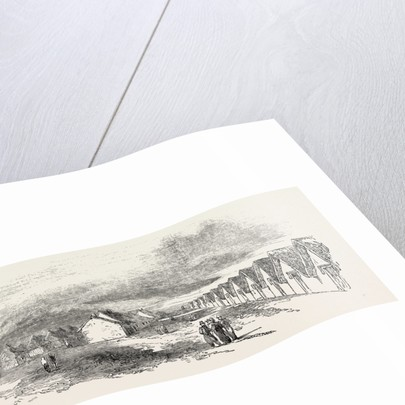 Sketch of a Portion of the Camp at St. Omer 1854 by Anonymous