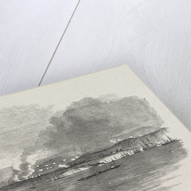 The Crimean War: The Battle of the Alma: Sketched from the Deck of the Star of the South 1854 by Anonymous
