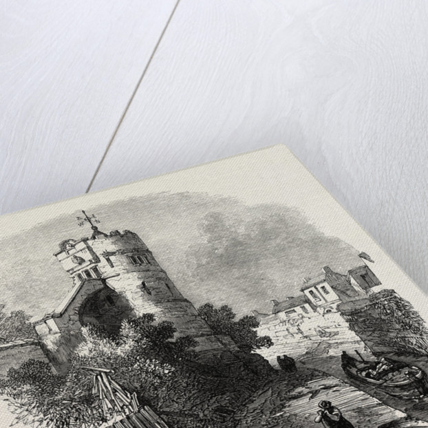Chester: The Phoenix Tower on the City Walls, UK, 1869 by Anonymous