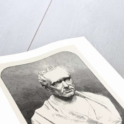 Bust of the Late Mr. George Stephenson, 1858 by Anonymous