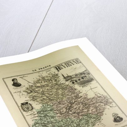 Map of Haute Vienne by Anonymous