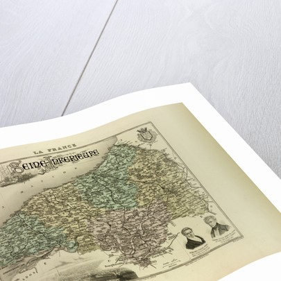 Map of Seine-Inférieure by Anonymous