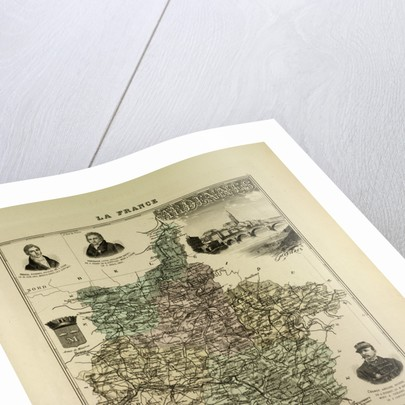 Map of Ardennes by Anonymous