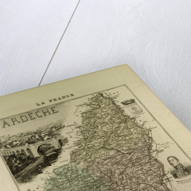 Map of Ardïšche by Anonymous