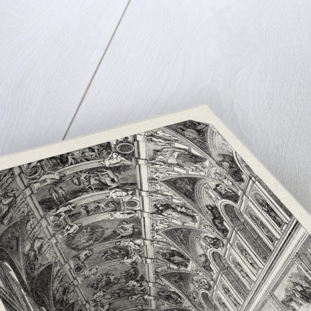 The Sistine Chapel. Rome Italy by Anonymous
