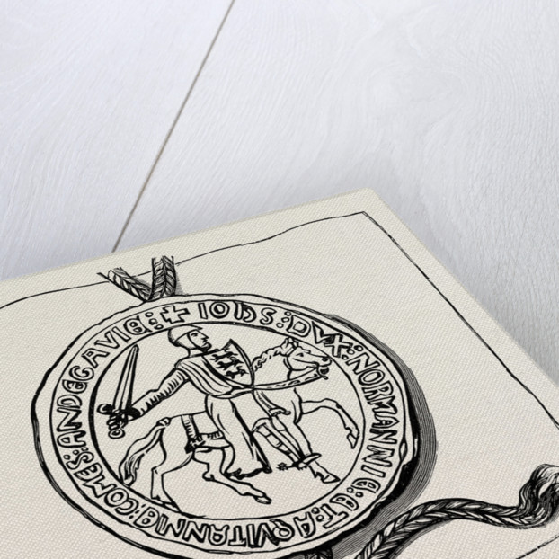 Seal of the Great Charter. by Anonymous