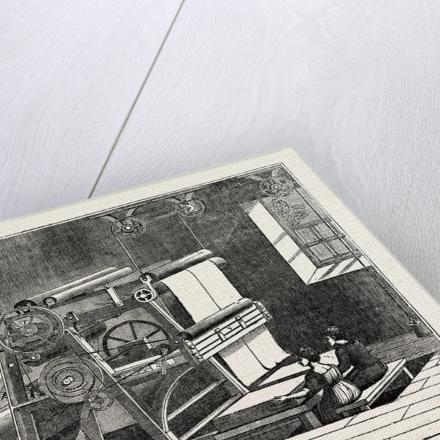 Paper-Cutting Machine by Anonymous
