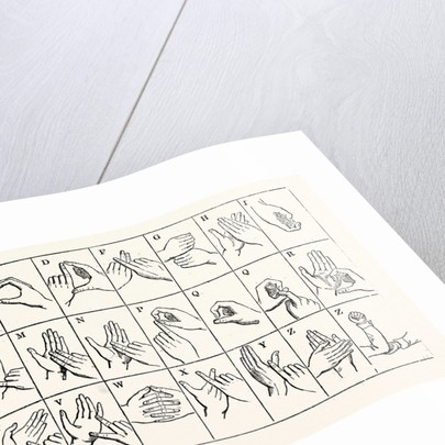 The Double-Handed Alphabet by Anonymous