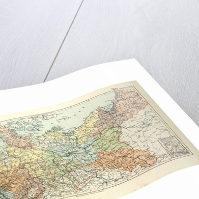Map of Prussia by Anonymous