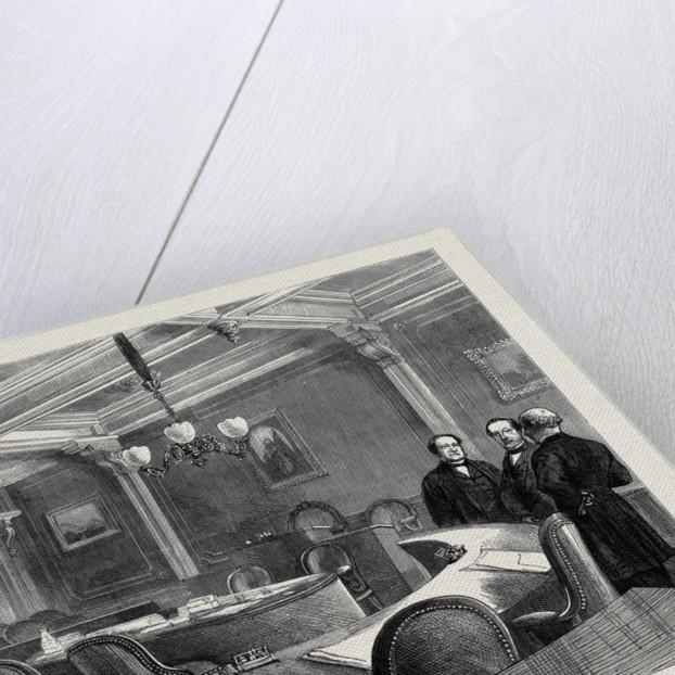 The Geneva Arbitration: The Salle Du Congrès in the Hôtel De Ville, Where the Arbitrators Meet by Anonymous