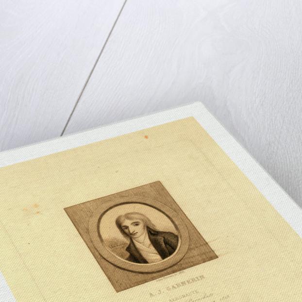 A.J. Garnerin, Aeronaut by Jules Porreau, 1853. by Anonymous