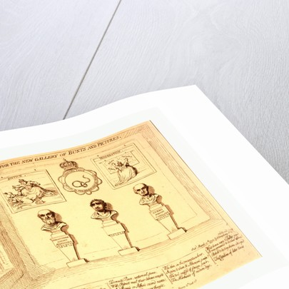 Design for the New Gallery of Busts and Pictures by Anonymous