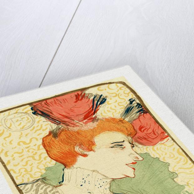 Bust of Mlle. Marcelle Lender (Mlle. Marcelle Lender, En Buste) by Anonymous