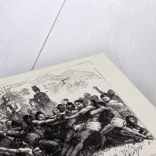 A Burmese Tug of War by Anonymous