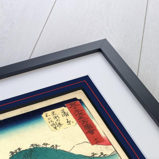 Kanbar by Ando Hiroshige