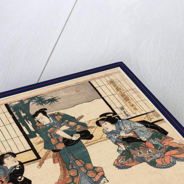 Kudanme, Act nine of the Chushingura by Utagawa Kuniyasu