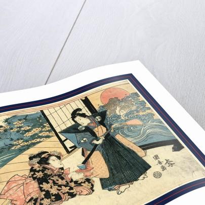 Nidanme, Act two of the Chushingura by Utagawa Kuniyasu
