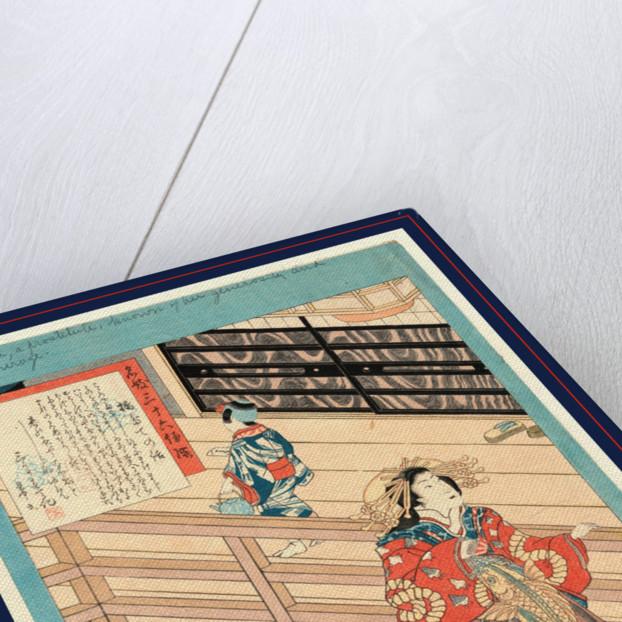 Hashidate no hanashi, Tale of the courtesan Hashidate by Utagawa Toyokuni