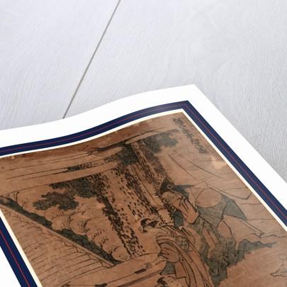 Shodan, Act one of the Kanadehon Chushingura by Katsushika Hokusai