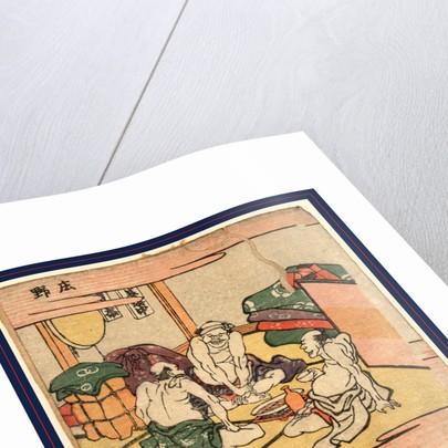 Shon by Katsushika Hokusai