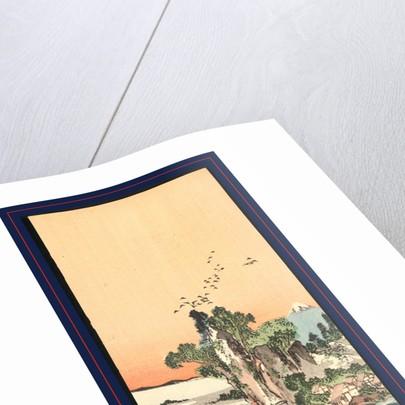 Shichirigahama zu, View of Shichirigahama by Tani Buncho