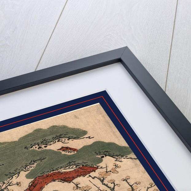 Sugawara no michizan by Kitao Shigemasa