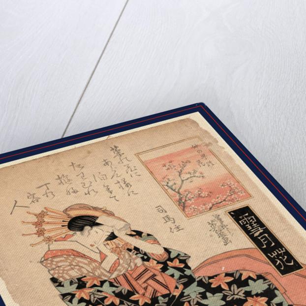 Nakanocho no hana, Blossom of Nakanocho by Ikeda Eisen