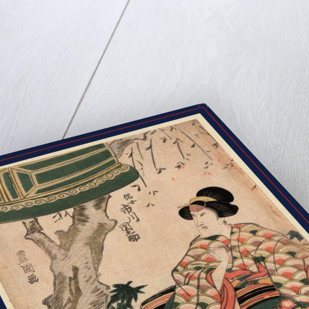 Ichikawa Dannosuke no Tsunajo, The actor Ichikawa Dannosuke in the role of Tsunajo by Utagawa Toyokuni
