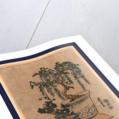 Fuji no hachiue, Potted wisteria by Ikeda Eisen