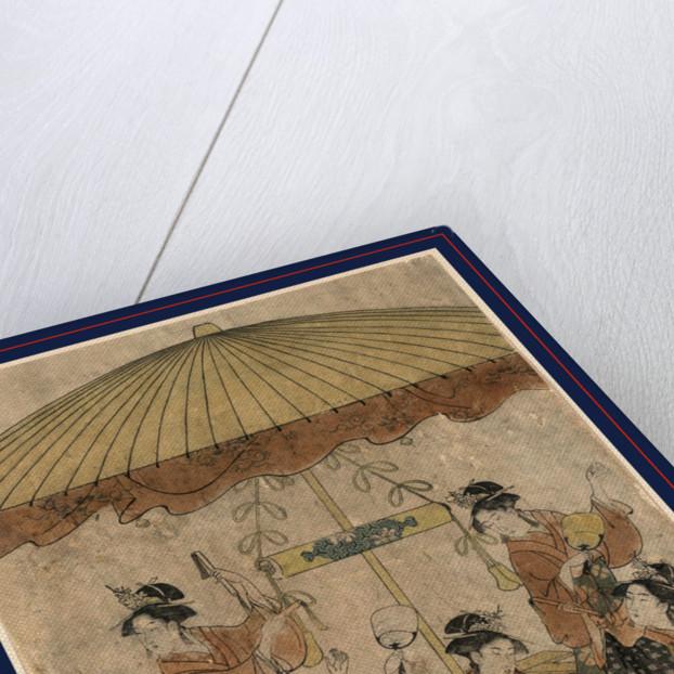 Sumiyoshi odori, Sumiyoshi dance by Hosoda Eishi