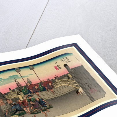 Nihonbash by Ando Hiroshige