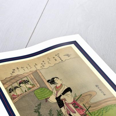 Uzuki, April by Suzuki Harunobu