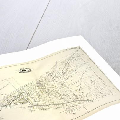 Map bound by Bayard Sanford St., Meeker Ave., Vandervoort Ave., Parker Pl., Kingsland Ave., Frost St., Humboldt Ave., Richardson St., Ewen St; Including Herbert St., Anthony St., Lombard St., Beadel St., Division St., Amos St., Benn., New York by Anonymous